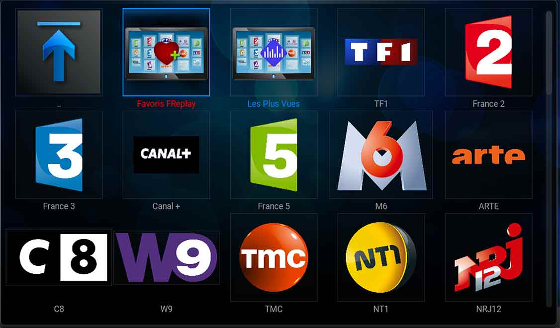 replay tv extensions addons kodi fr applications android ios test tv en direct gratuit. Black Bedroom Furniture Sets. Home Design Ideas