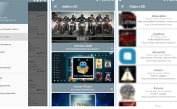 Addons KD : Application Android pour extensions, builds et listes sur kodi.