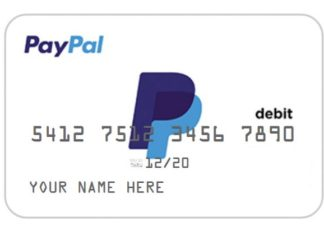 PayPal : Vers l'introduction de cartes de débit .