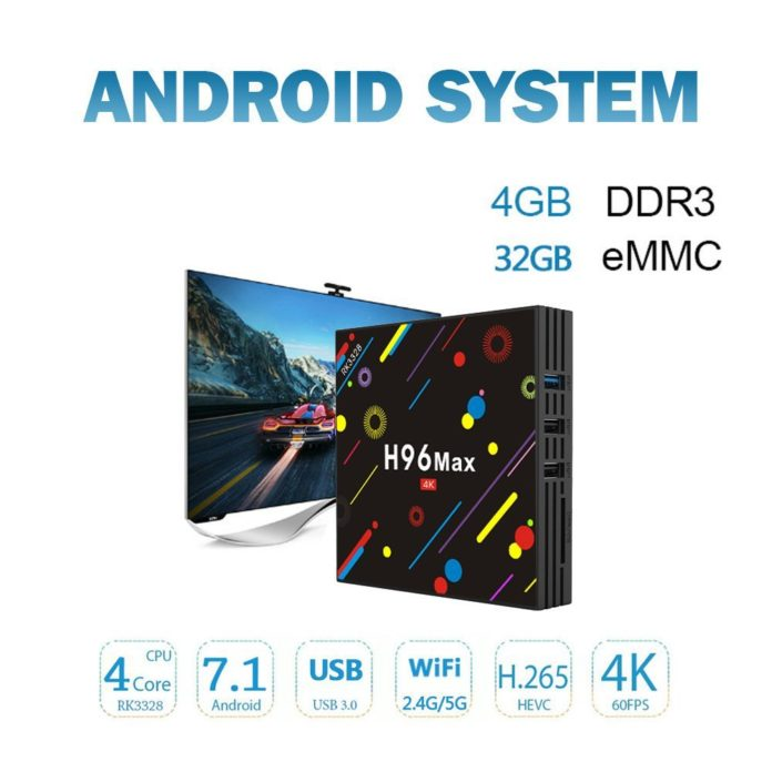 Android Box Tv H96 MAX H2
