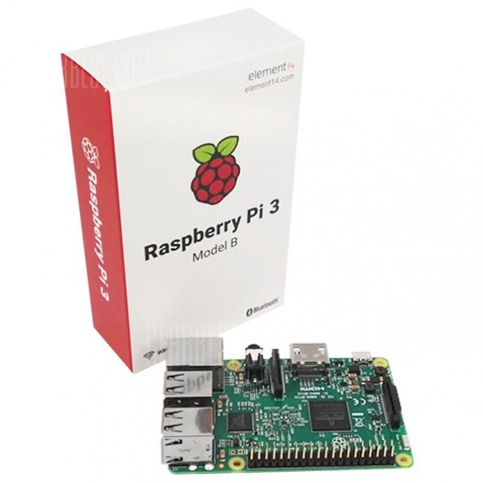 Bon plan : Raspberry Pi 3 Model B Motherboard pour seulement 36.03€.