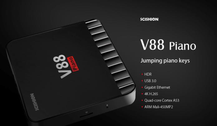 SCISHION V88 Piano TV Box