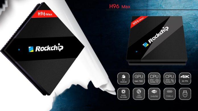 H96 Max TV Box - 4G + 32G