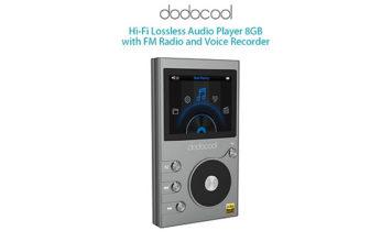 Lecteur de musique Hi-Fi avec enregistreur vocal et radio.