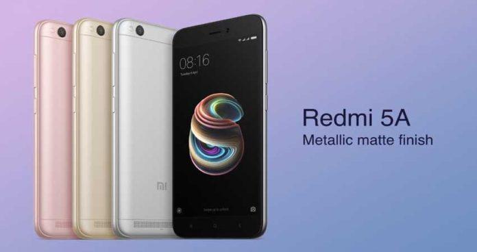 Xiaomi Redmi 5A 4G