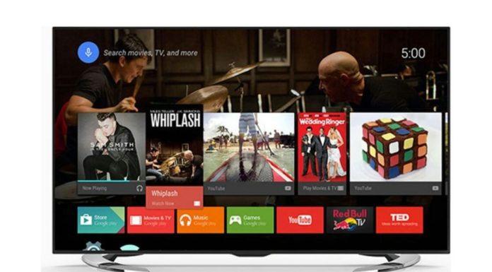 Applications à installer sur un appareil Android TV.