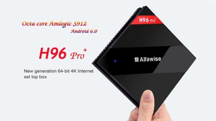 Alfawise H96 Pro+ TV