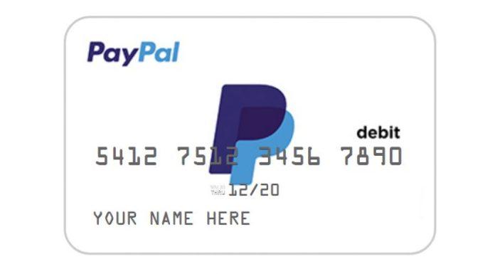PayPal : Vers l'introduction de cartes de débit .
