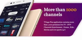 Application Android pour chaînes de télévision internationales.