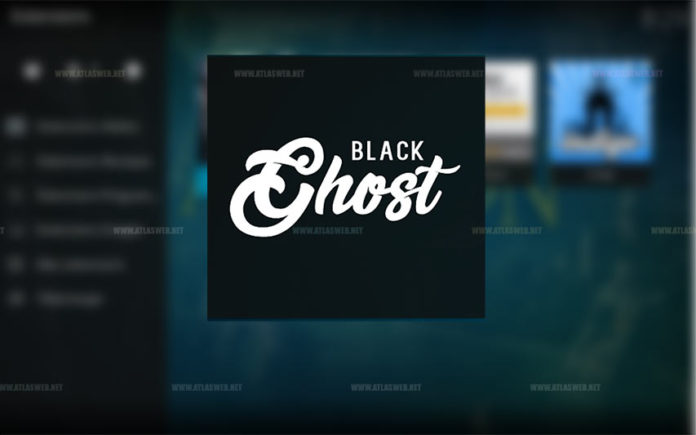 Installer l'extension Black Ghost sur kodi.