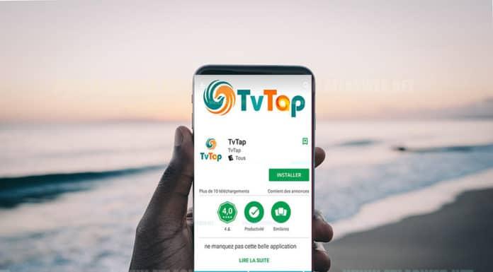 Application Android IPTV pour chaînes de télé internationales.