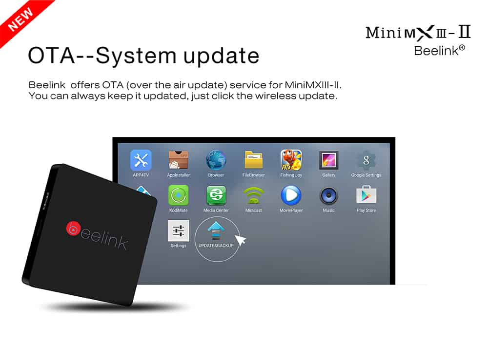 Beelink MINI MXIII II TV Box -android