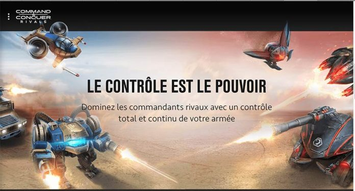 Command & Conquer disponible en pré-alpha sur le Play Store.