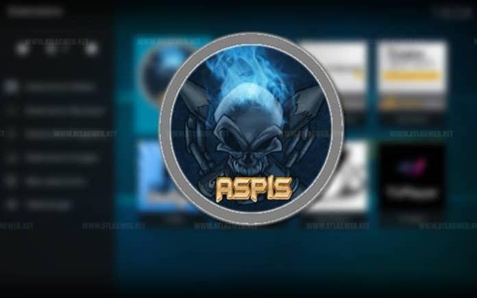 Installer l'extension Aspis sur le lecteur multimédia kodi.