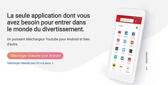 Application Android pour télécharger les vidéos Youtube et bien d'autre.