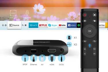 Présentation de la nouvelle Android 7.1 A4 TV Box.