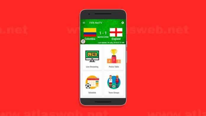 Application Android : regarder la coupe du monde 2018 en direct sur votre appareil Android.