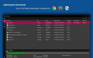 Télécharge iDownload Manager (iDM) pour Windows.