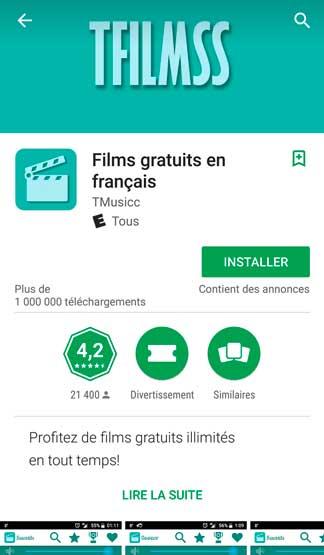 Films gratuits en français