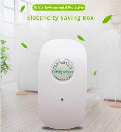 Home-Intelligent-Electricity-Saving-Box-White