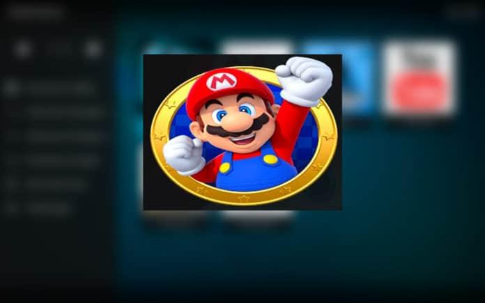 Installer l'extension Mario sur kodi.