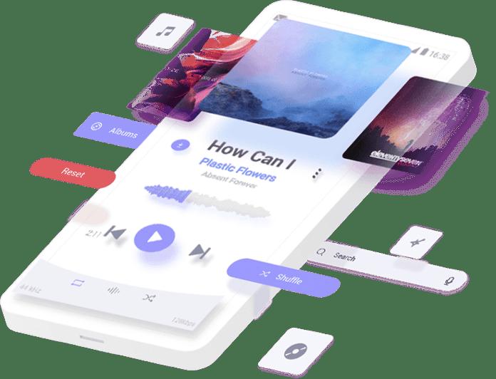 Stellio Player: lecteurs de musique sous Android