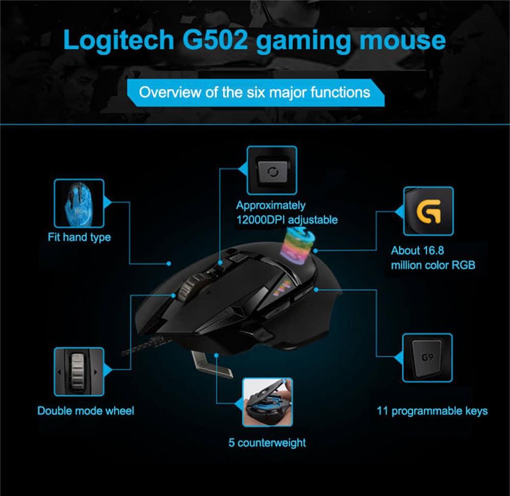 Logitech-G502-Mouse