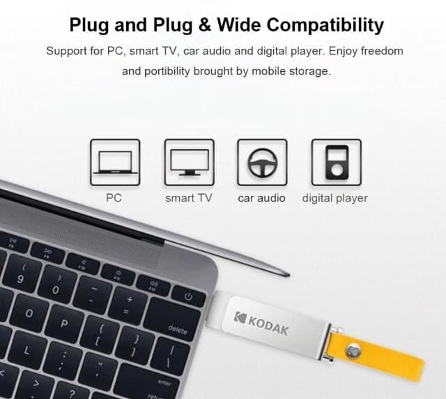 Bon Plan : Clé USB Kodak K133 USB 3.0 128G