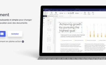 Wondershare PDFelement 6 Pro pour Mac.