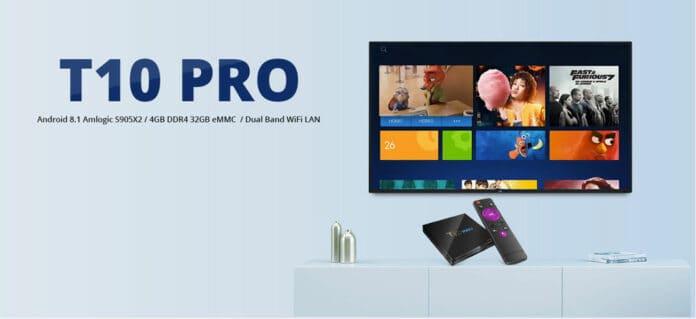 T10 PRO Amlogic S905X2 Android