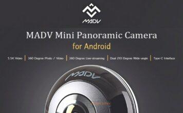 Caméra panoramique Xiaomi MADV Mini 13MP à 360 degrés