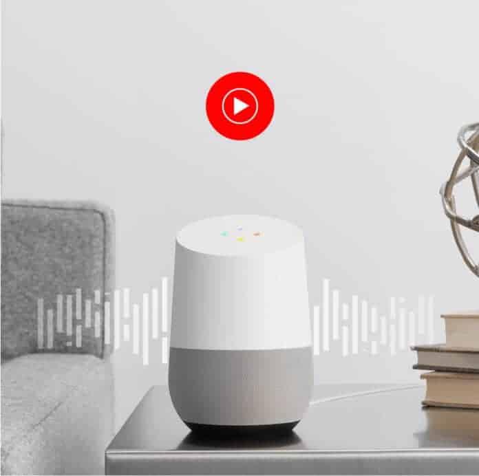 Google Home: YouTube Music est disponible gratuitement.